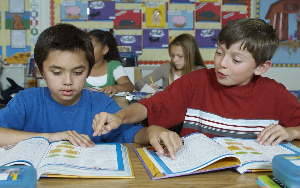 students in class tips for buying school books