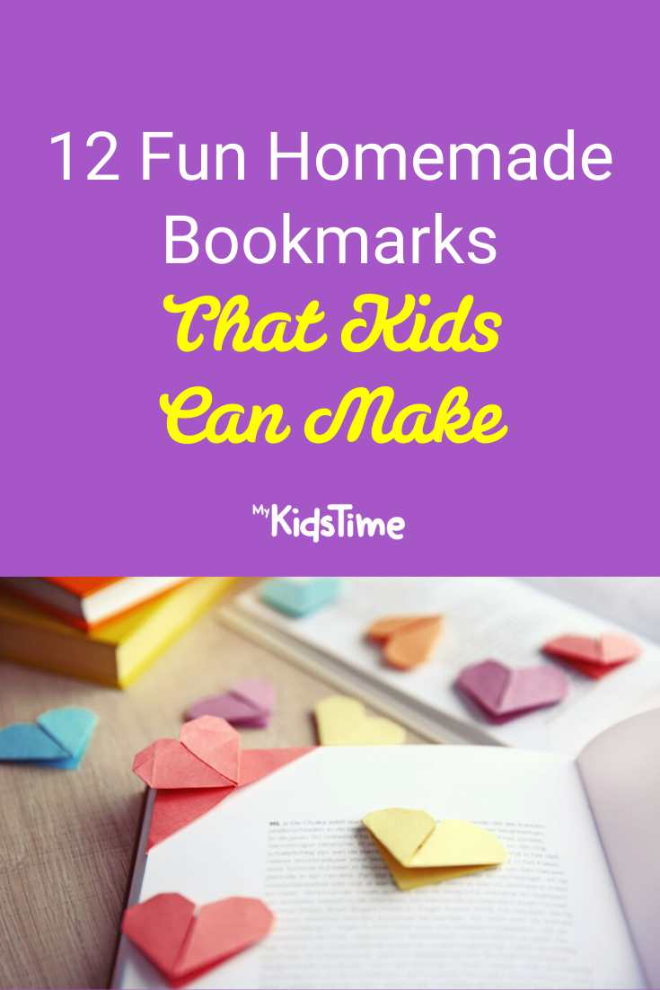 12 Fun and Easy Homemade Bookmarks That Kids Can Make - Mykidstime (1)