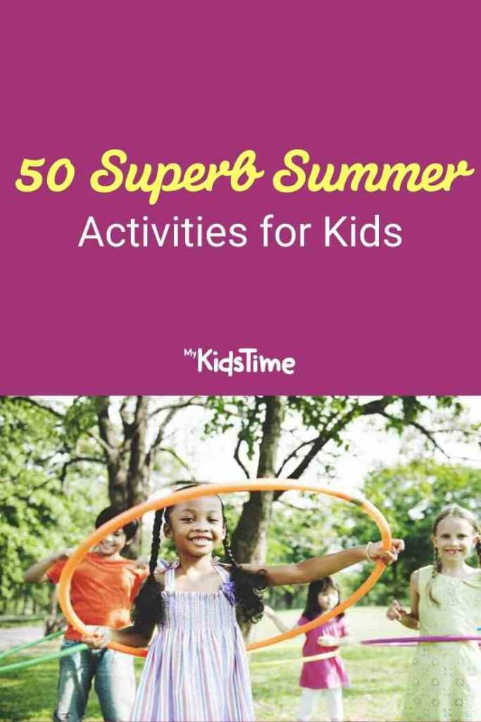 50 Super Summer Activities for Kids