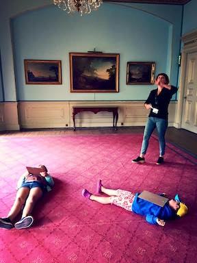 Art at Fota House and Gardens fun things to do with kids in Cork