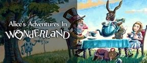 Chapterhouse Theatre company Alice in Wonderland outdoor family theatre and cinema events in Ireland