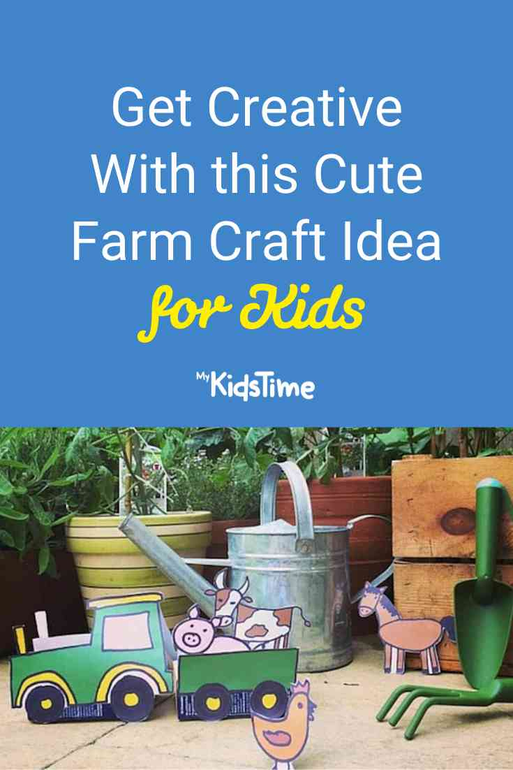 Get Creative with this Cute Farm Craft Idea for Kids - Mykidstime