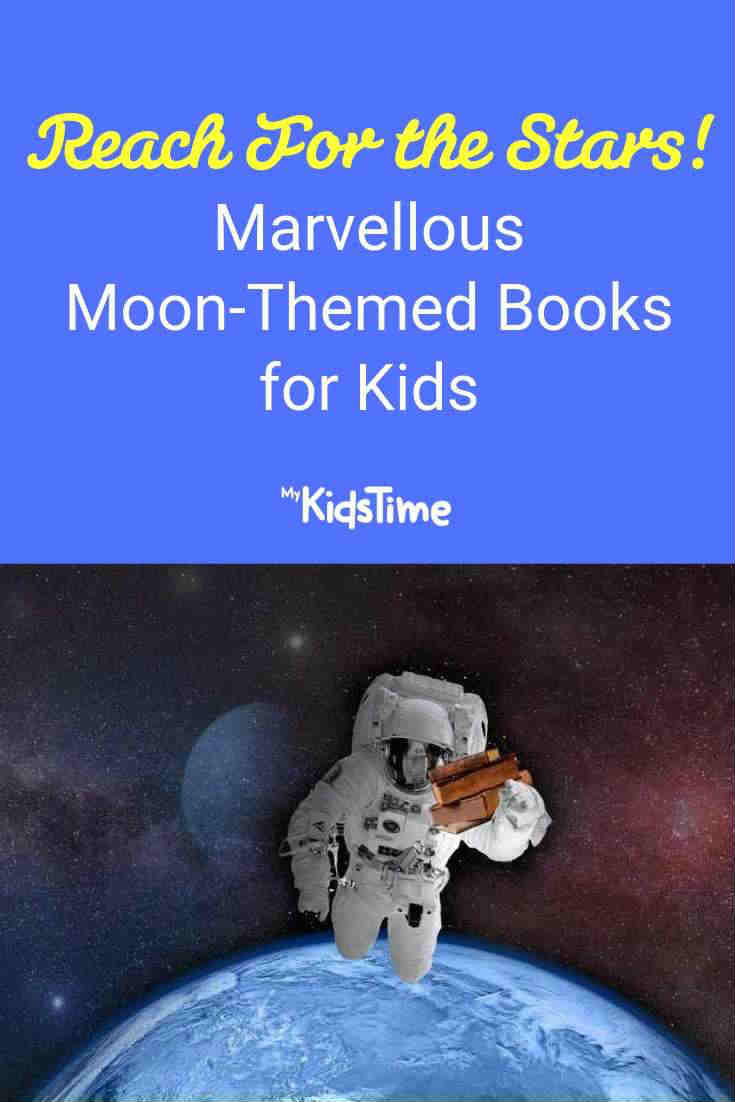 Moon-themed books for kids