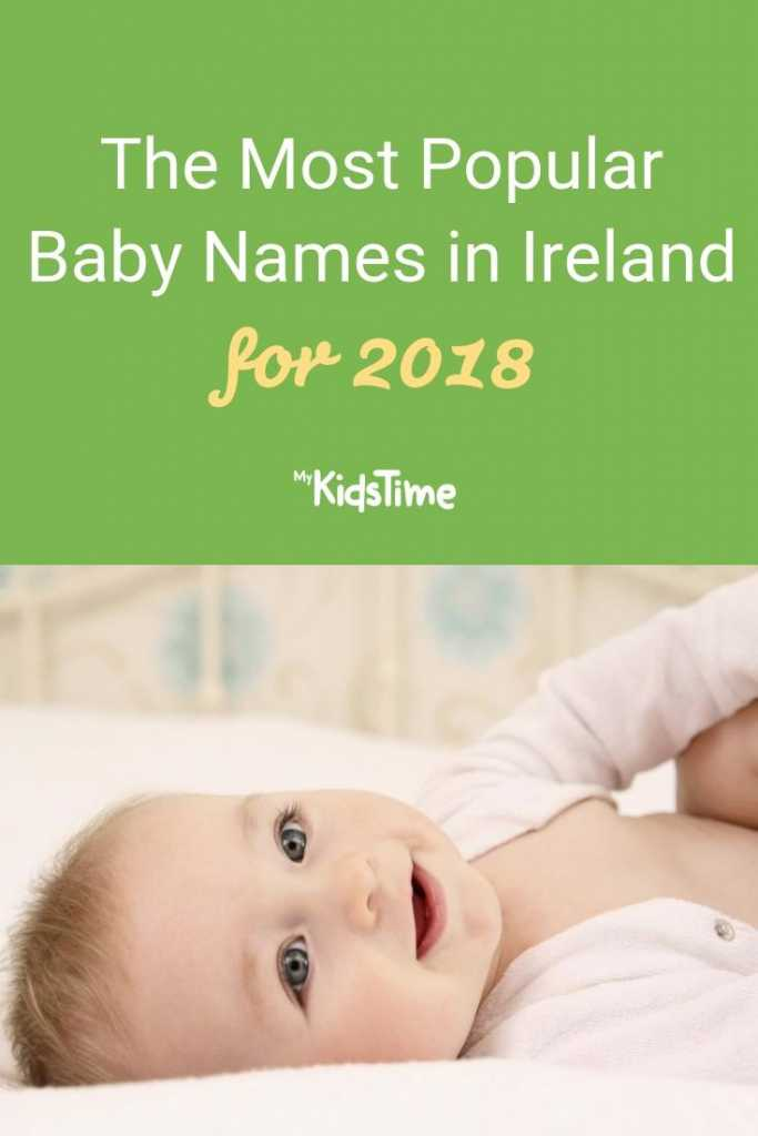 The Most Popular Baby Names in Ireland 2018
