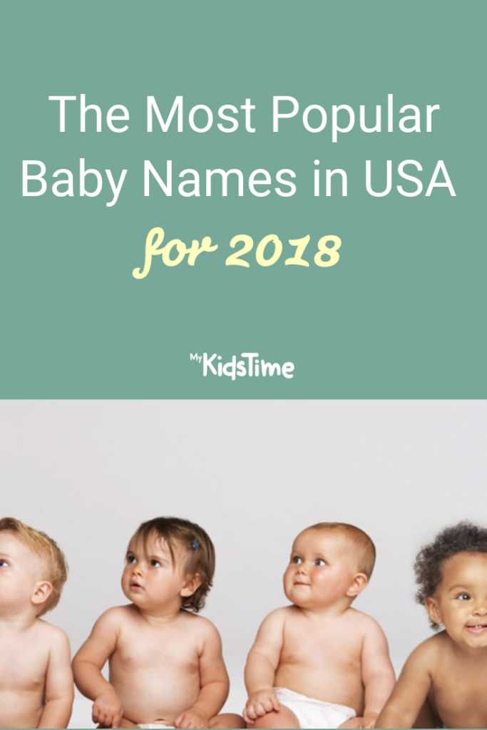 The Most Popular Baby Names in USA 2018