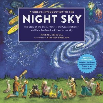 introduction to the night sky for moon-themed books for kids