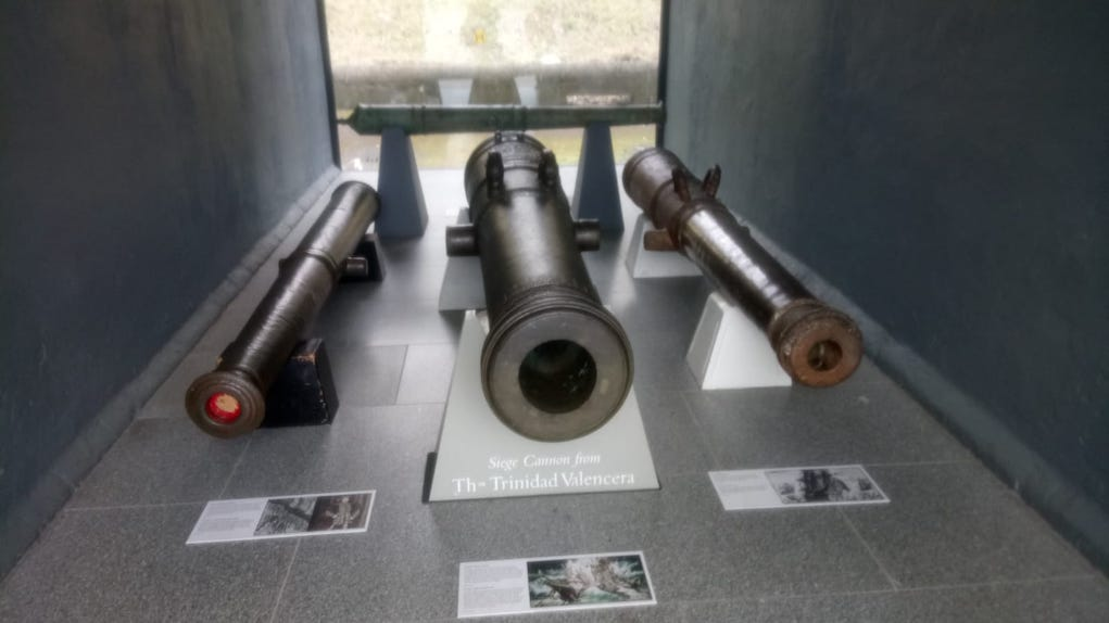 Cannons at Collins Barracks Museum