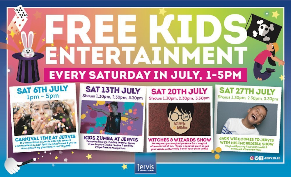 Jervis Street Free kids entertainment