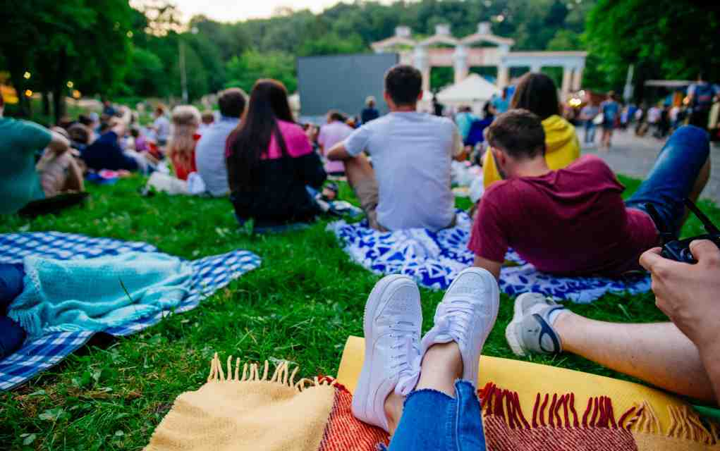 outdoor family theatre and cinema events in Ireland