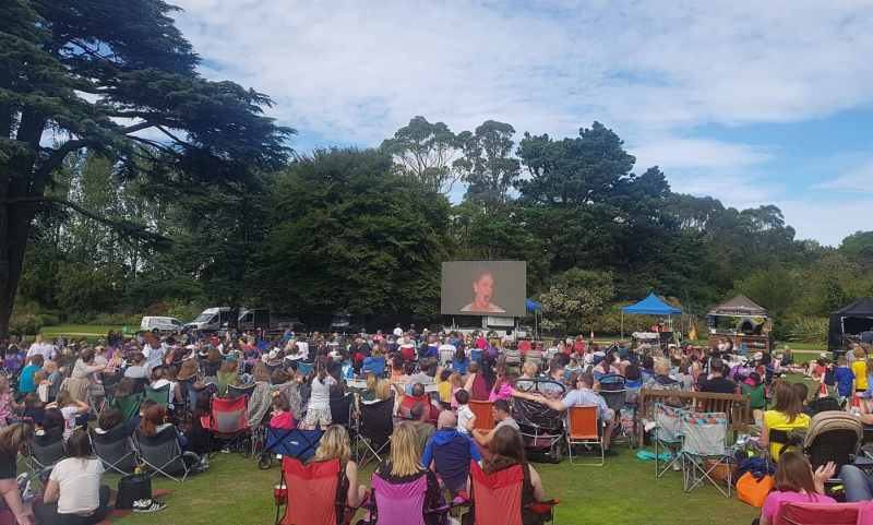 retro drive in movies outdoor family theatre and cinema events in Ireland