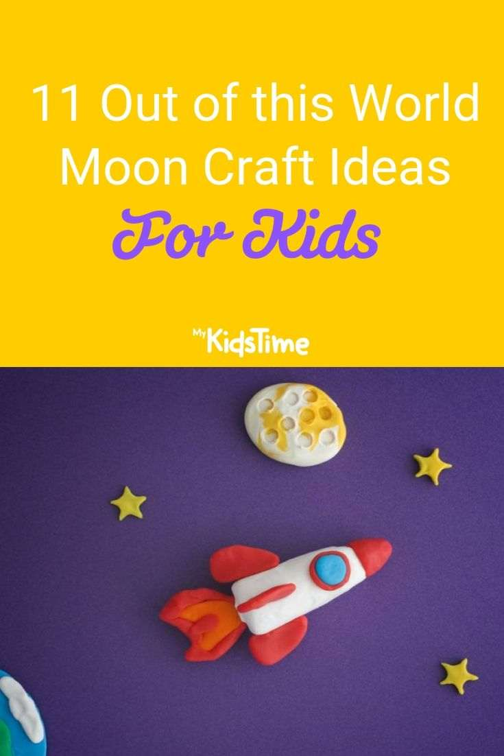 11 Out of this World Moon Craft Ideas for Kids