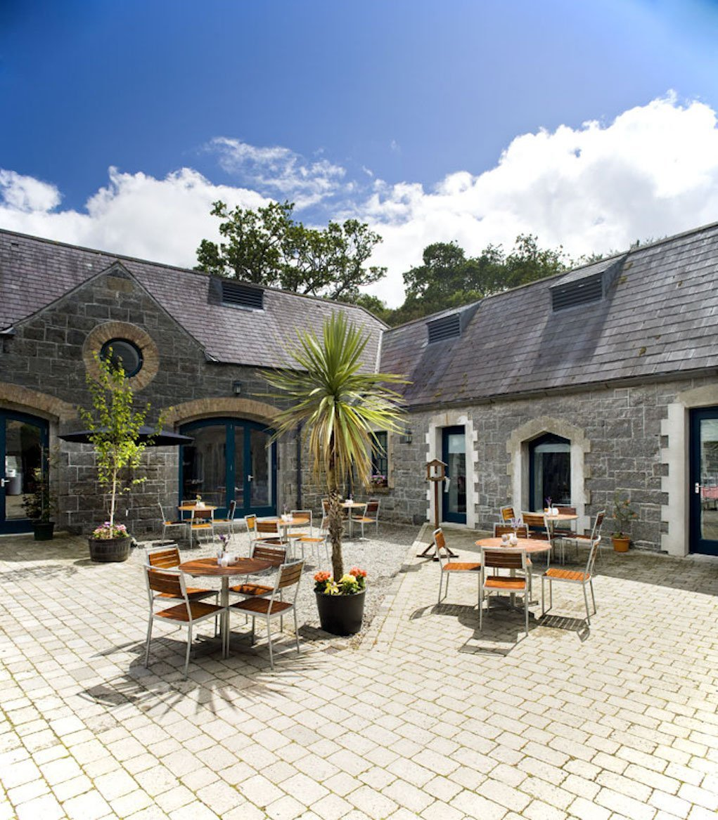Cafe at at National Museum of Ireland Country LIfe Mayo