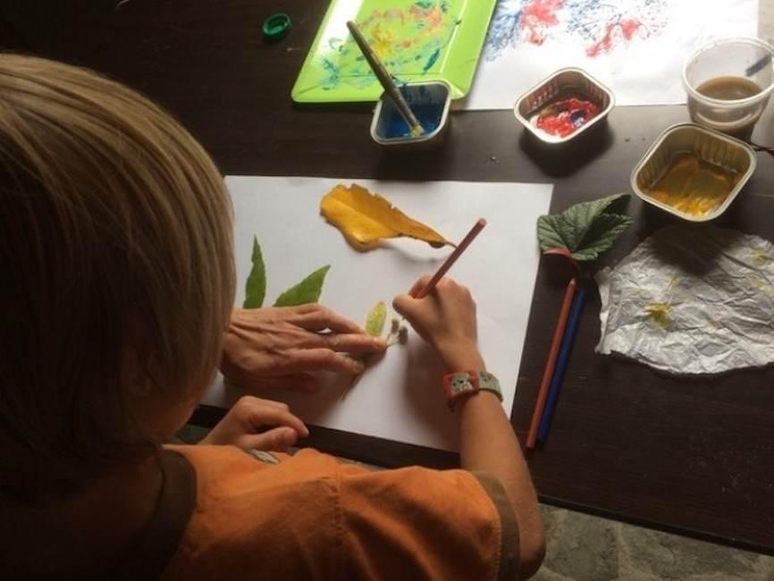 Children's Nature Art for Heritage Week