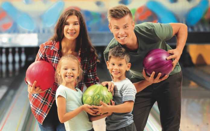 Free game of bowling for the family at Leisureplex