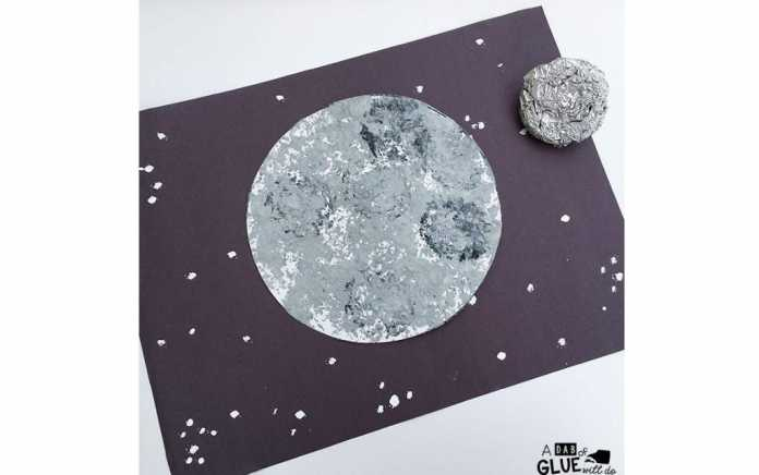 moon craft ideas