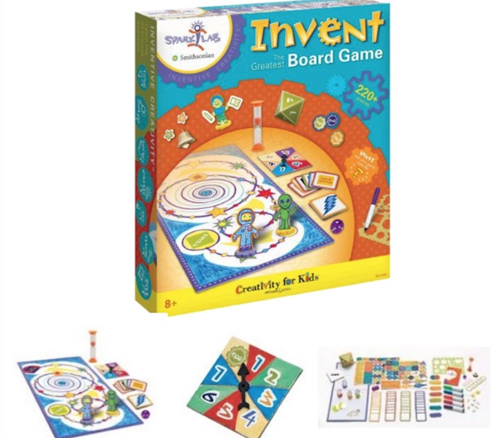 Invent board game from schoolbooks hot toys for Christmas