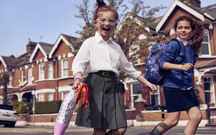 M&S School Uniforms truth about kids going back to school