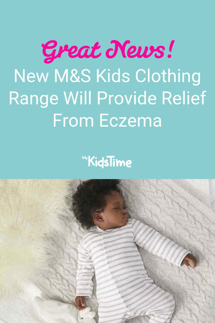 New M&S Kids Clothing Range Will Provide Relief from Eczema - Mykidstime