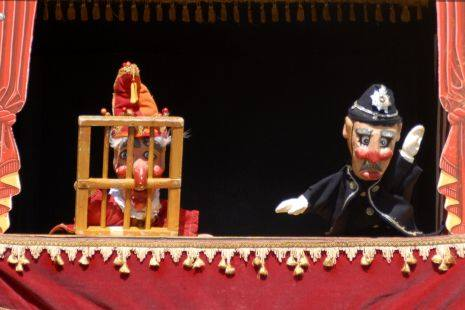 Scottish Mask and Puppet