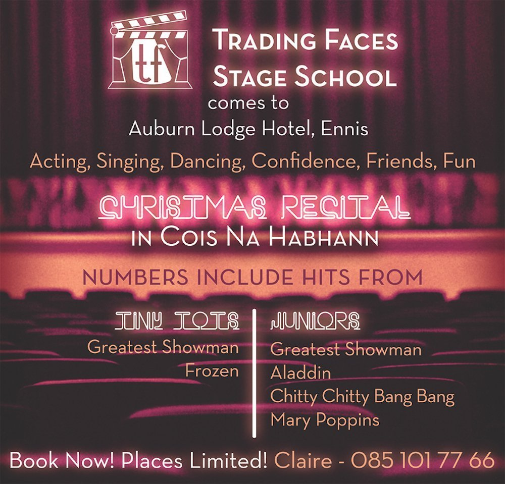 Trading Faces Ennis benefits of performing arts for kids
