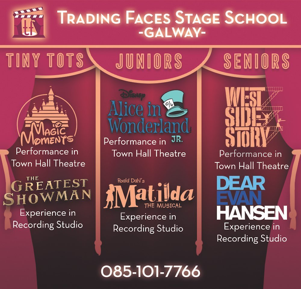 Trading Faces Galway benefits of performing arts