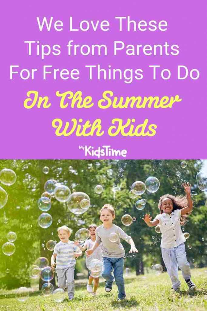 We love these tips for free things to do in the summer with kids