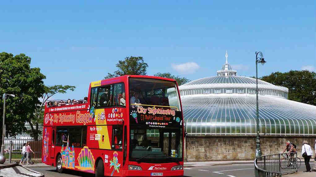 Glasgow city bus tour