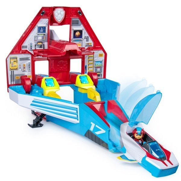 paw patrol supersonic jet command centre