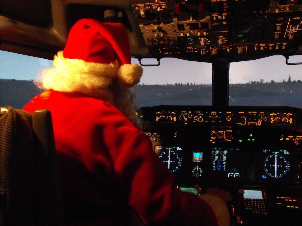 visit santa at Atlantic Air Adventure Shannon