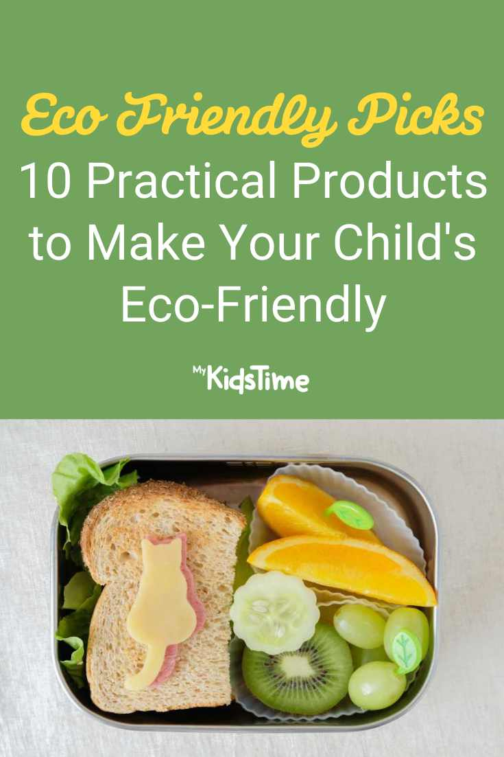 10 Practical Products to Make Your Child's Lunch Box Eco Friendly