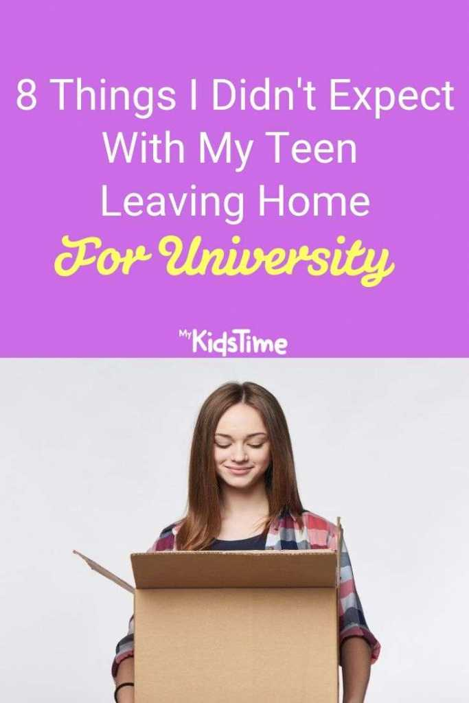 8 Things I Didn't Expect With My Teen Leaving Home For University