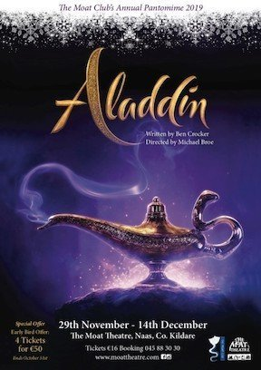 Aladdin at Moat Theatre 2019 best pantos in Ireland