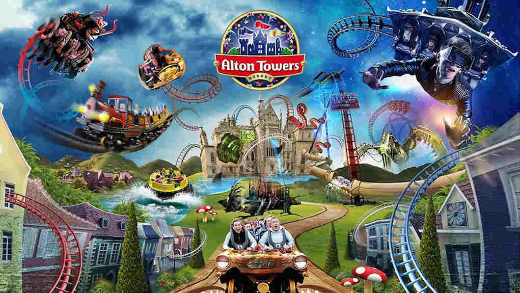 Alton Towers for UK theme parks