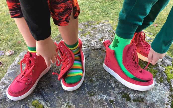 Accessible shoes for special needs