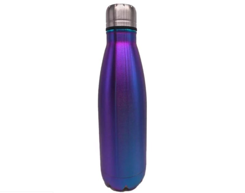 BodyGo Metallic Blue Capsule Bottle