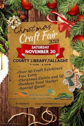 Christmas Craft Fair 2019 at country library Tallaght