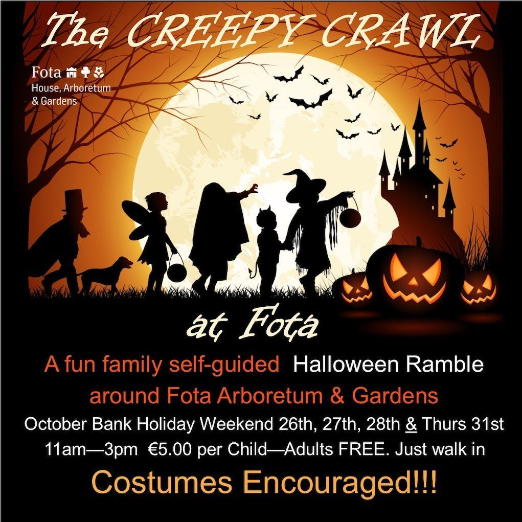 Creepy Crawl Halloeen Ramble Fota House Cork