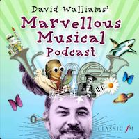 David Walliams Marvellous Musical Podcasts for kids