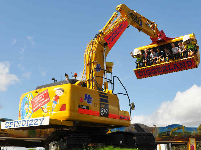 Diggerland theme parks uk