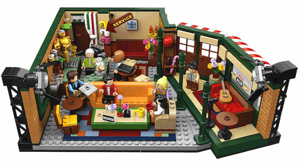 LEGO Central Perk front