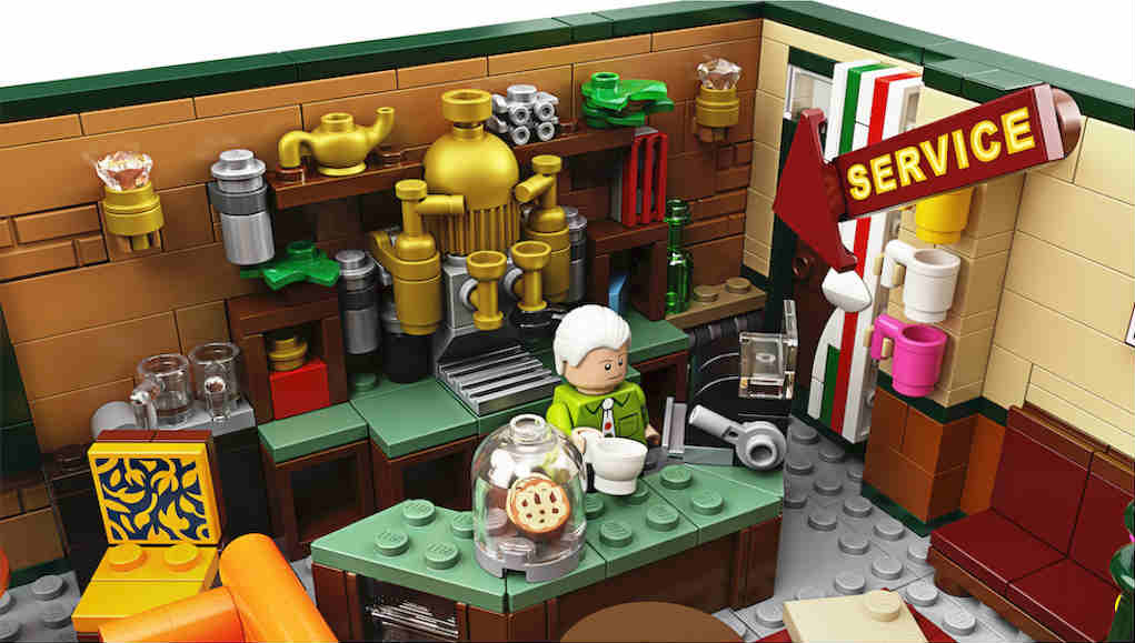 LEGO central perk Gunther