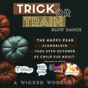 Trick or Train at The Round Tower Clondalkin