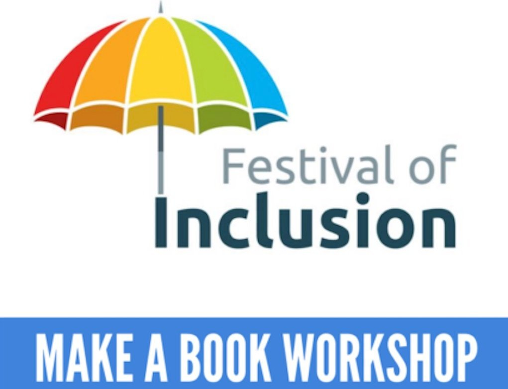 lr festvial of inclusion make a book workshop for those with special needs