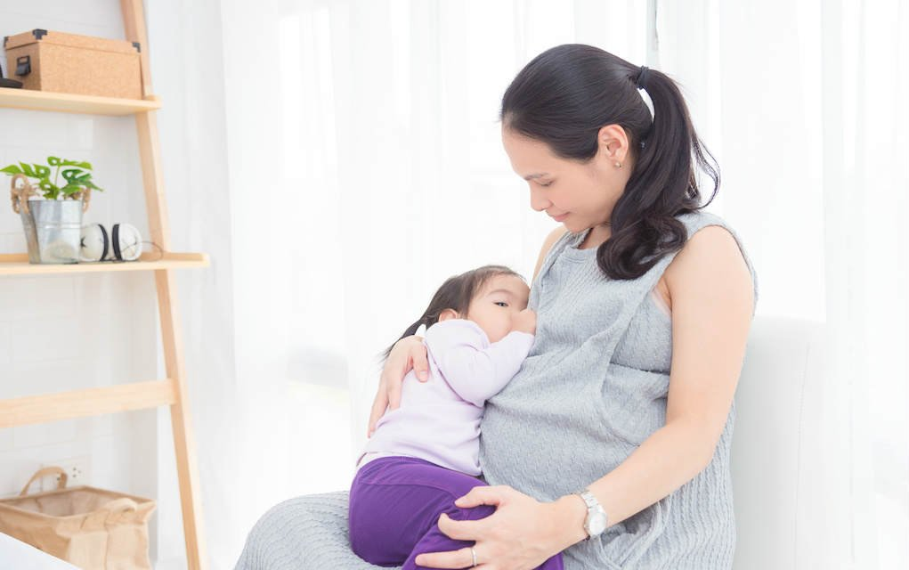 extended breastfeeding while pregnant