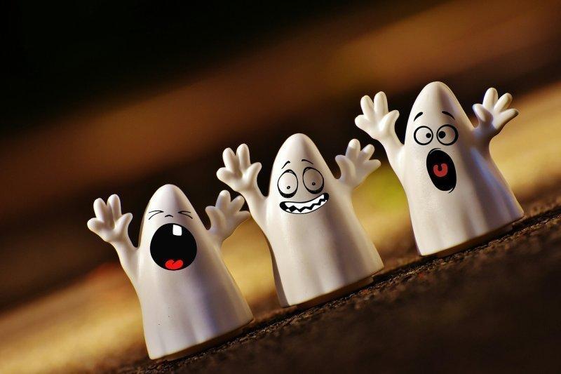 ghost halloween joke