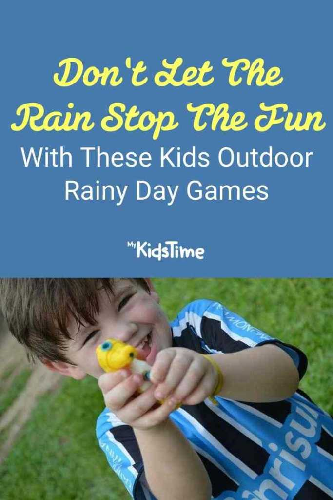 12 Kids Outdoor Rainy Day Games