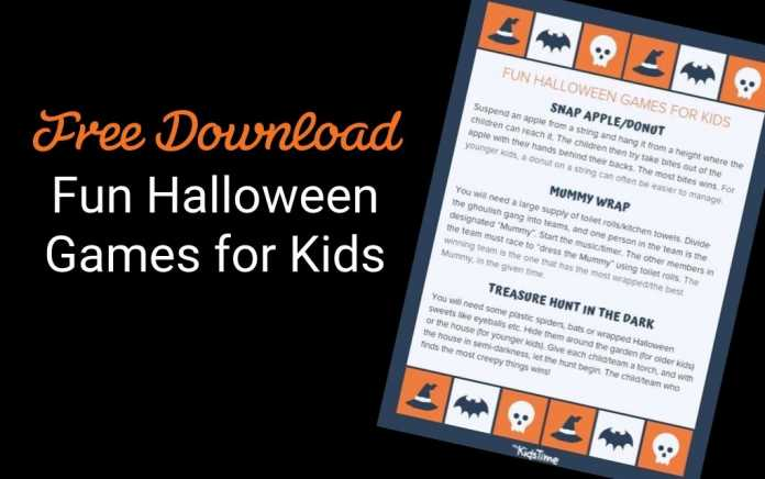 fun halloween games for kids