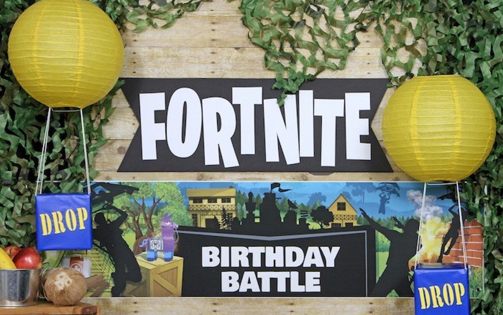 Fortnite party table