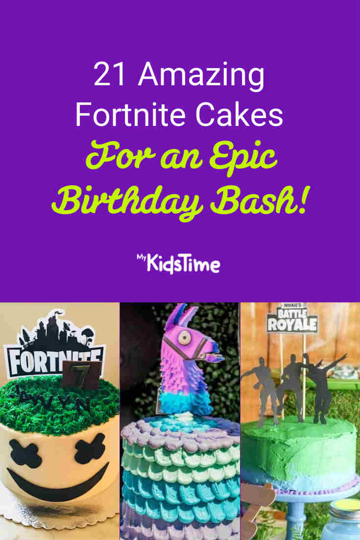 21 Fortnite Cakes for an Epic Birthday bash - Mykidstime