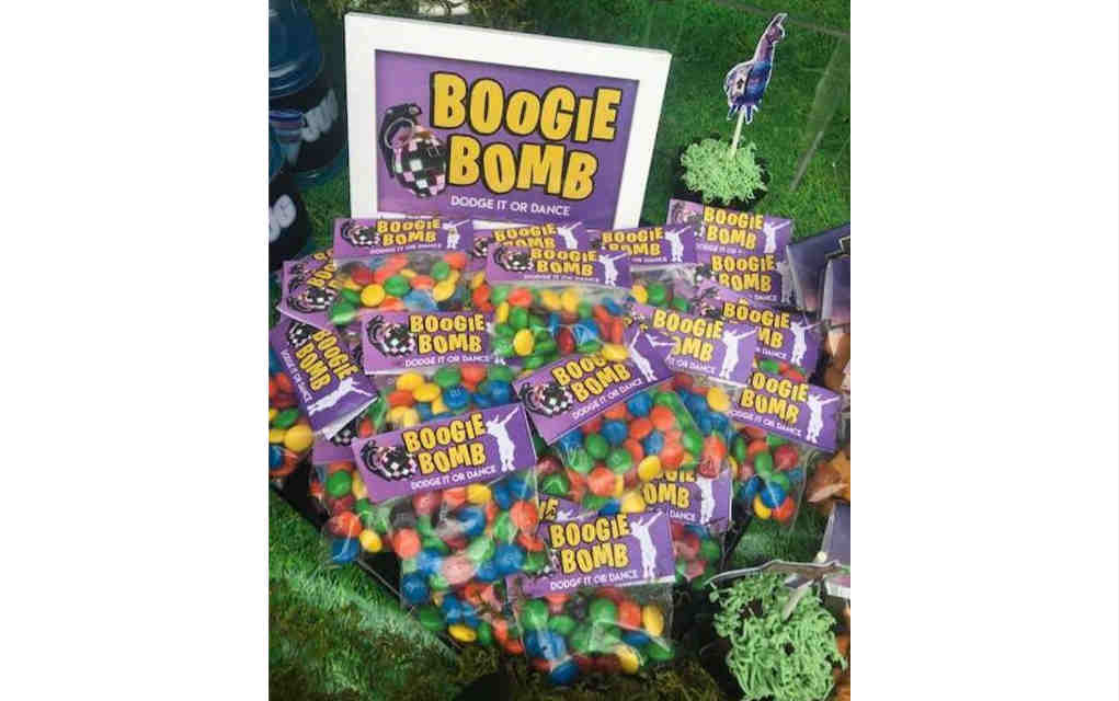 Boogie bombs for Fortnite party food